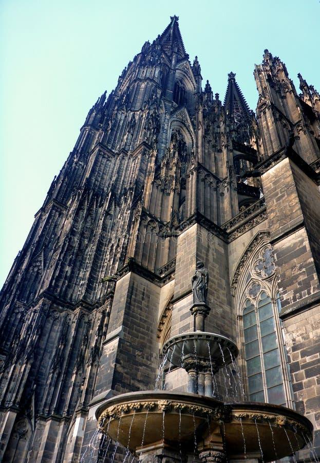 Cattedrale di Colonia, Germania fotografia stock libera da diritti