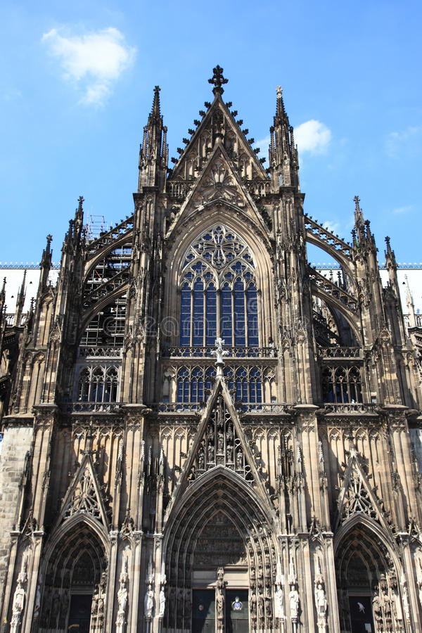 Cattedrale di Colonia, particolare immagini stock libere da diritti