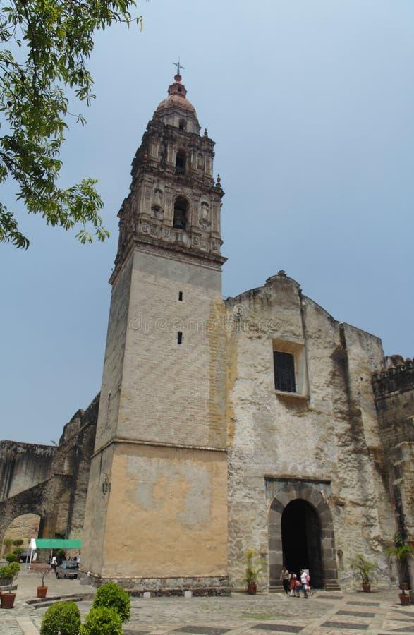 Cattedrale di Cuernavaca fotografie stock
