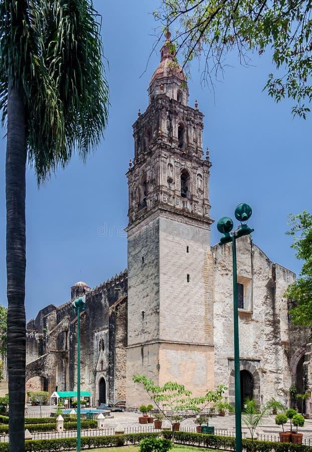 Cattedrale di Cuernavaca fotografia stock libera da diritti