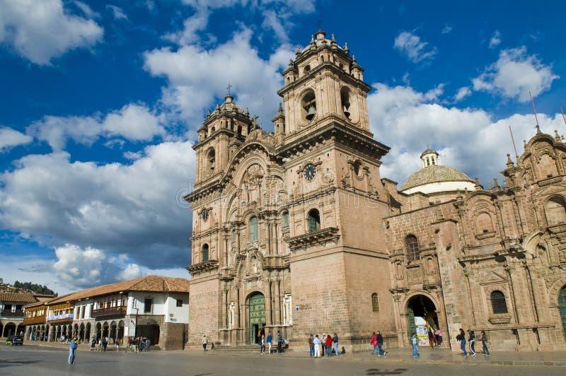 Cattedrale di Cusco fotografie stock