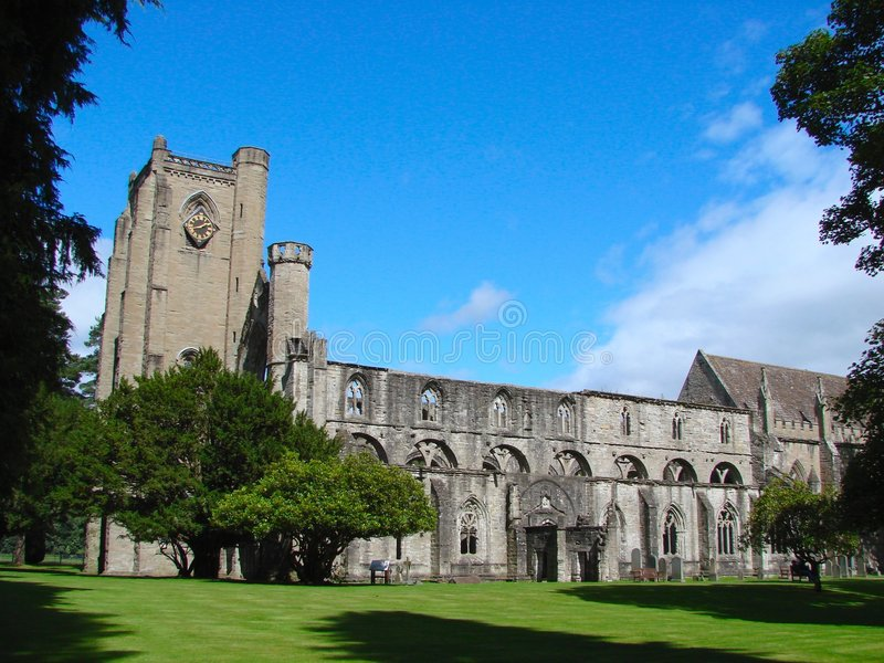 Cattedrale di Dunkel, Scozia fotografia stock