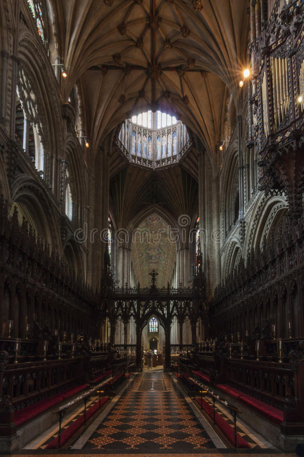 Cattedrale di Ely fotografia stock libera da diritti