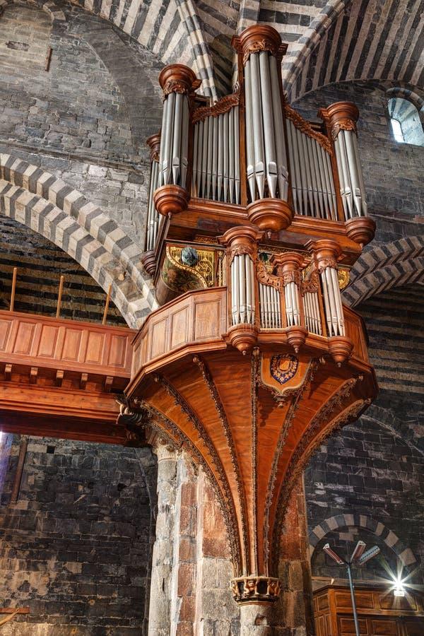 Cattedrale di Embrun - Embrun - Alpes - la Francia fotografia stock libera da diritti