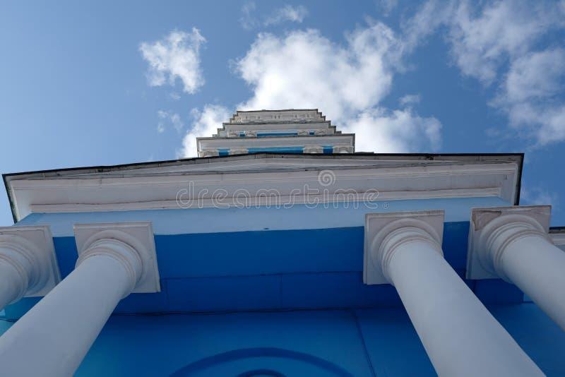 Cattedrale di epifania, costruita nel 1876 Noginsk La Russia fotografia stock
