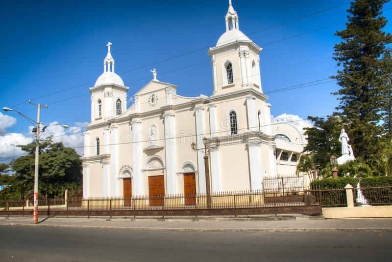 Cattedrale di Esteli, Nicaragua fotografie stock