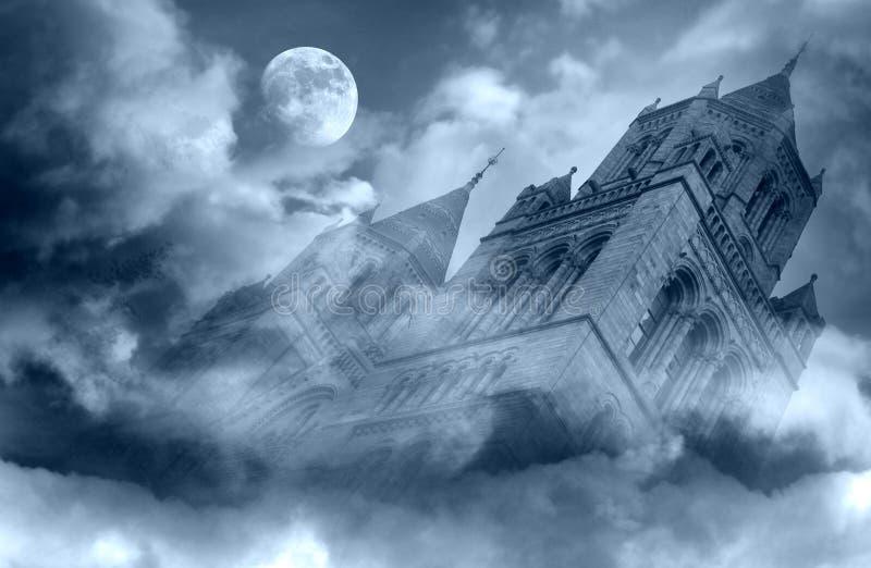 Cattedrale di fantasia fotografie stock libere da diritti