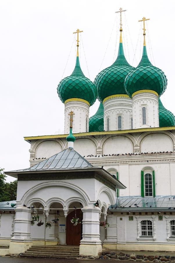 Cattedrale di Fedorovsky in Yaroslavl, Russia fotografia stock libera da diritti