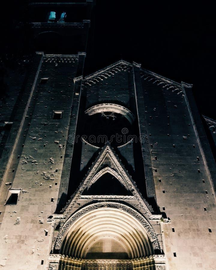 Cattedrale di Fermo fotografia stock