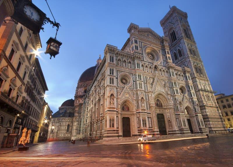 Cattedrale di Firenze fotografia stock libera da diritti