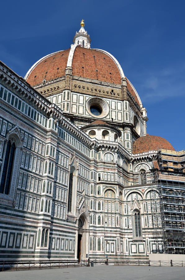 Cattedrale di Firenze, Toscana, Italia fotografie stock libere da diritti