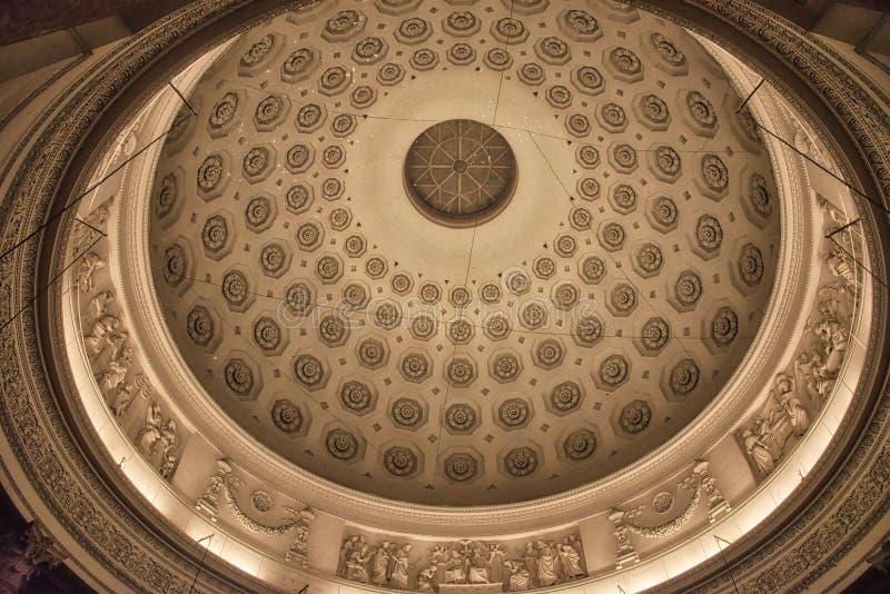 Cattedrale di Fossano - Cuneo Italia immagini stock libere da diritti