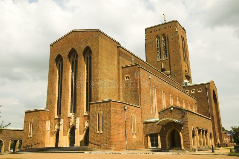 Cattedrale di Guildford fotografia stock
