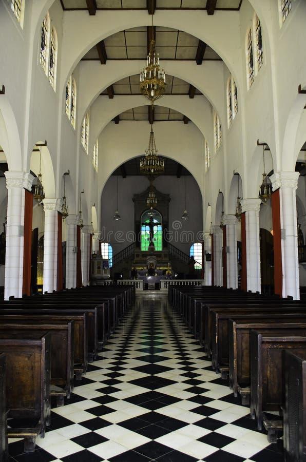 Cattedrale di Iglesia de Cristo Negro immagini stock libere da diritti
