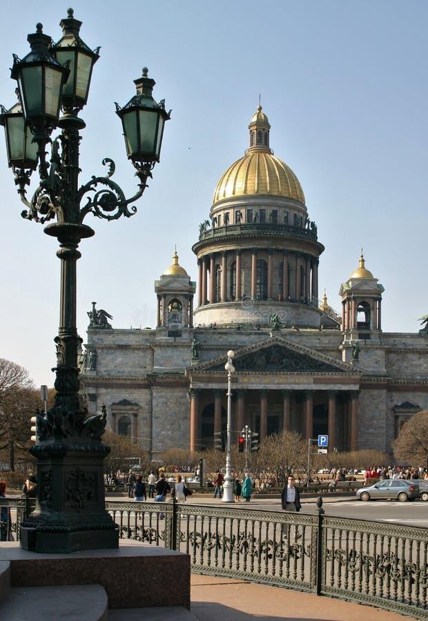 Cattedrale di Isaak immagini stock libere da diritti