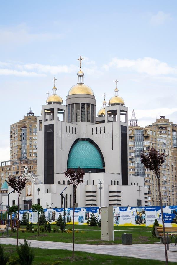 Cattedrale di Jesus Christ Resurrection immagini stock libere da diritti
