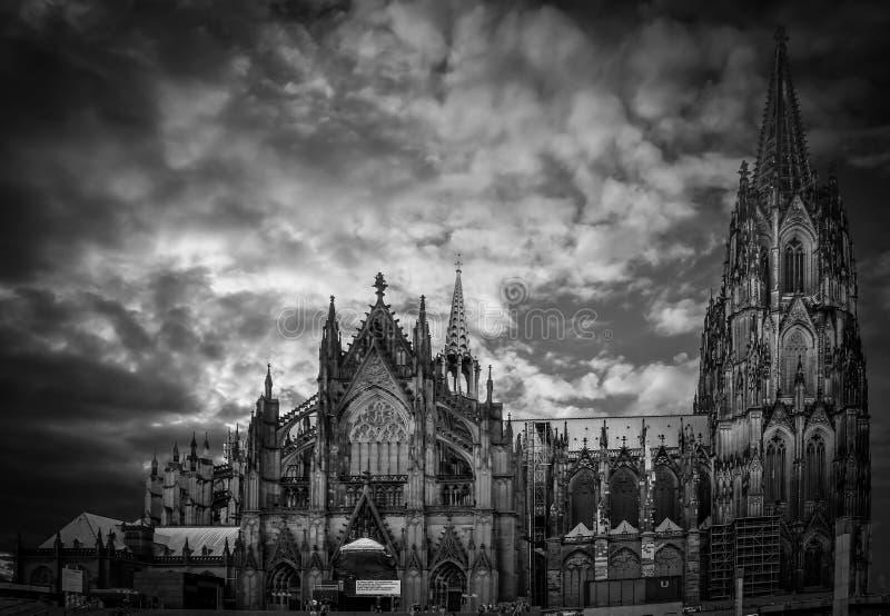 Cattedrale di Koln fotografia stock