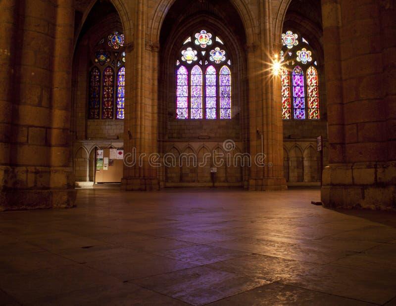 Cattedrale di Leon immagine stock