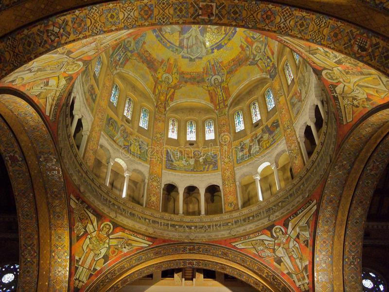 Cattedrale di Lisieux immagine stock