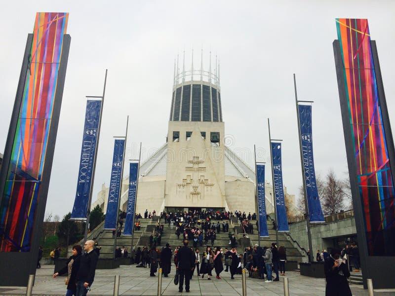 Cattedrale di Liverpool fotografia stock