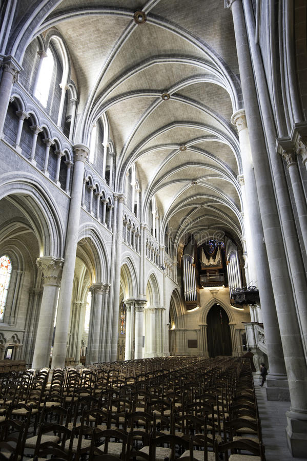 Cattedrale di Losanna immagine stock libera da diritti