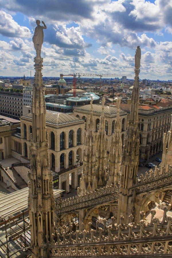 Cattedrale di Milano fotografia stock
