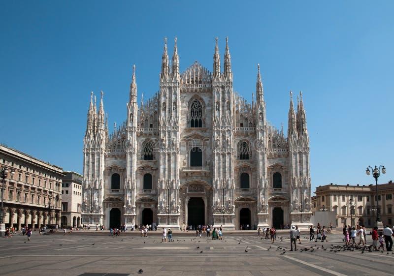 Cattedrale di Milano (cupola, Duomo) immagini stock libere da diritti