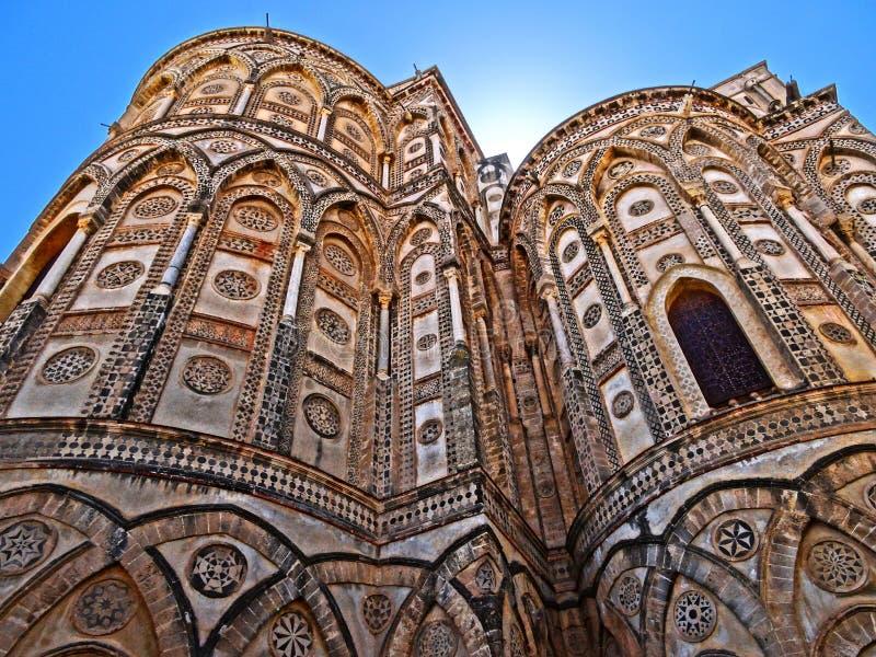 Cattedrale di Monreale stockbild