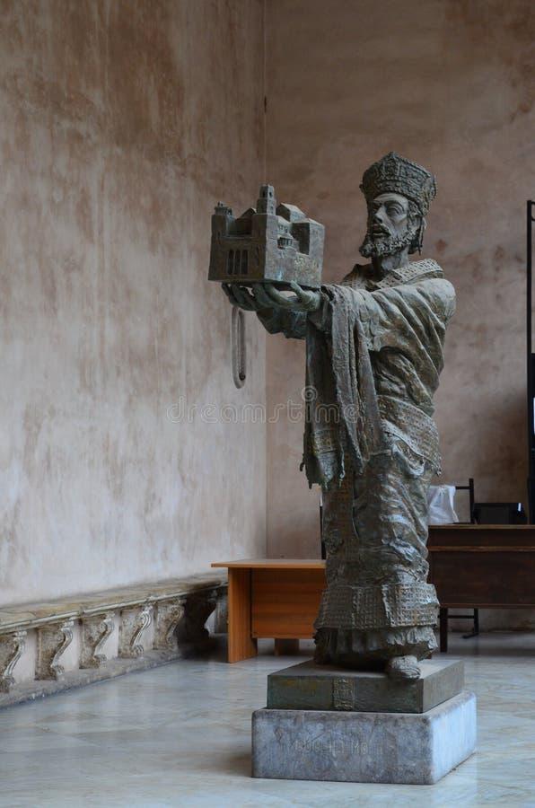 cattedrale di Monreale a Palermo immagine stock libera da diritti