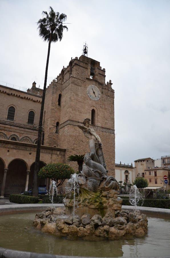 Cattedrale di Monreale a Palermo, Sicilia immagine stock