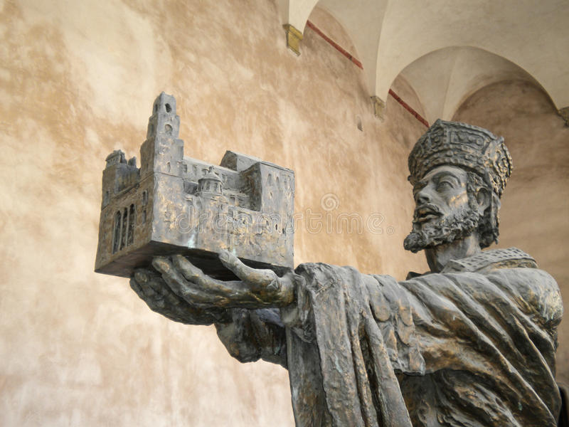 Cattedrale di Monreale a Palermo, Sicilia fotografia stock libera da diritti