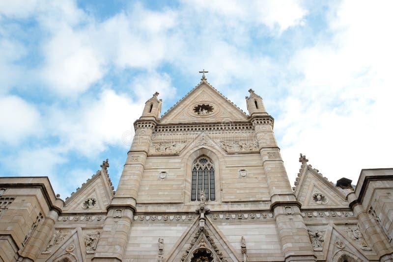 Cattedrale di Napoli fotografie stock libere da diritti