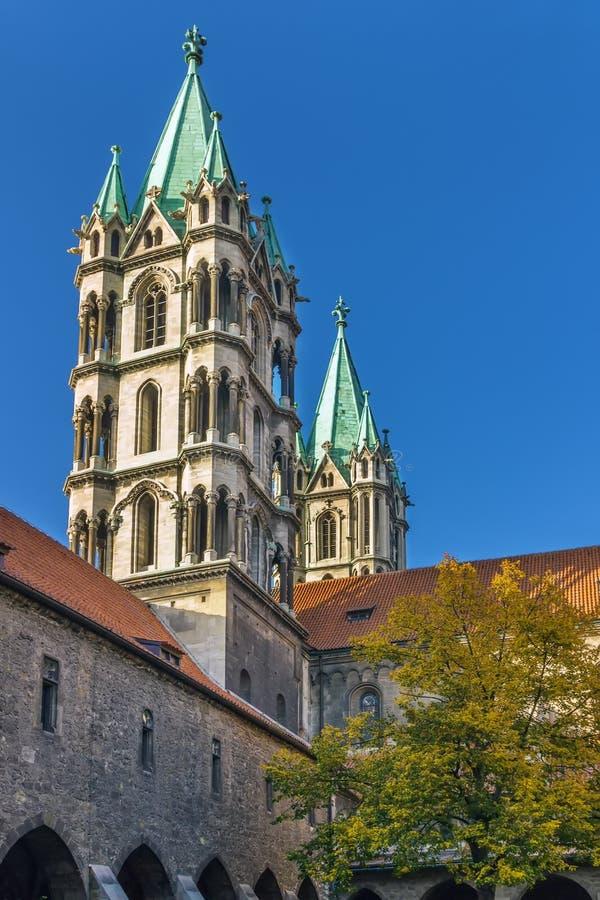 Cattedrale di Naumburg, Germania immagini stock