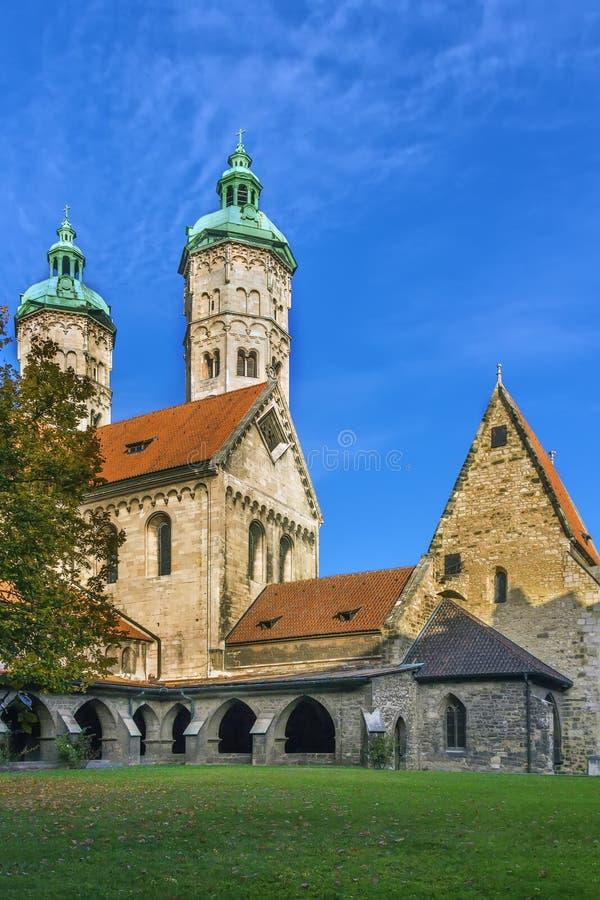Cattedrale di Naumburg, Germania fotografia stock