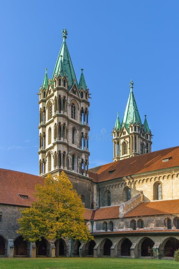Cattedrale di Naumburg, Germania fotografie stock libere da diritti