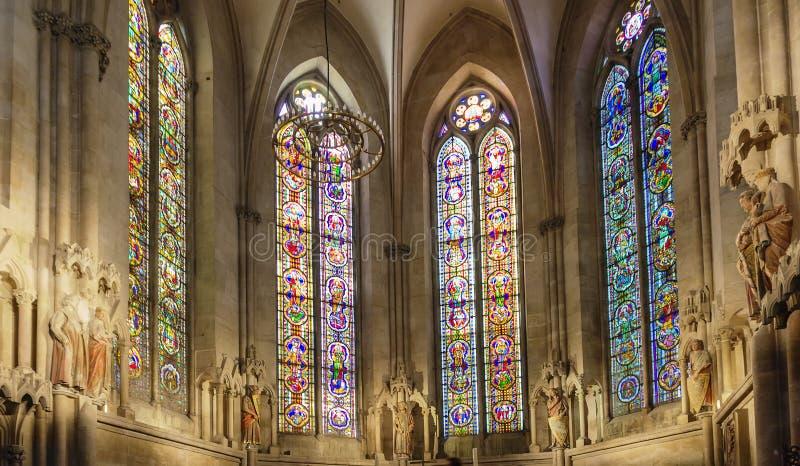 Cattedrale di Naumburger, Germania immagini stock libere da diritti