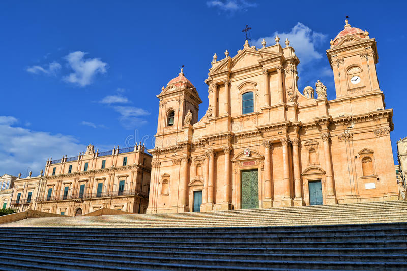 Cattedrale di Noto fotografie stock libere da diritti