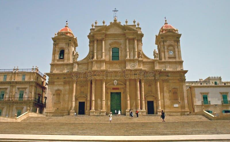 Cattedrale di Noto - la Sicilia immagini stock