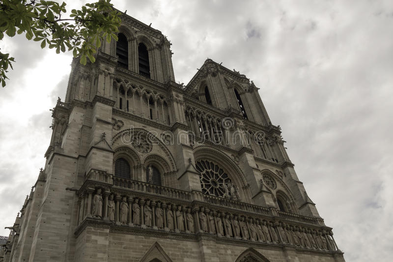 Cattedrale di Notre-Dame fotografia stock libera da diritti