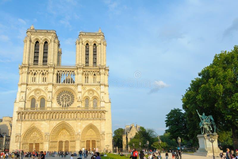 Download Cattedrale Di Notre Dame A Parigi Immagine Editoriale - Immagine di radura, dame: 56888225