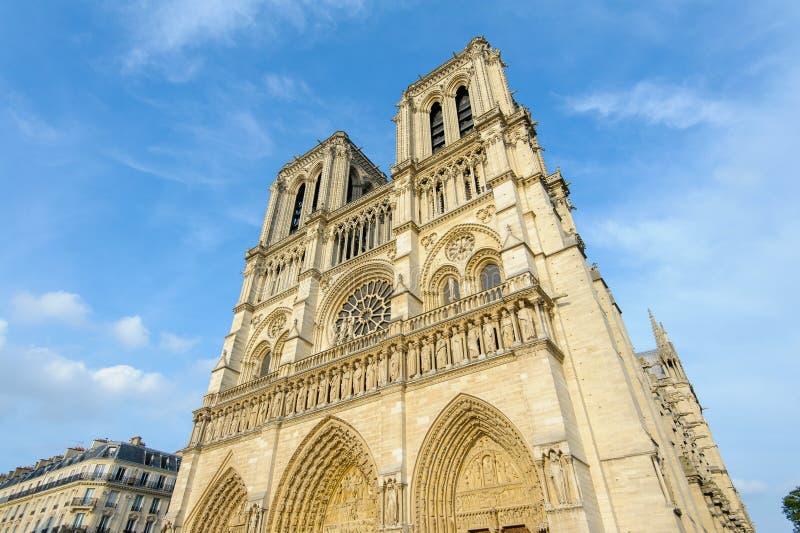Download Cattedrale Di Notre Dame A Parigi Immagine Stock - Immagine di radura, gotico: 56889217