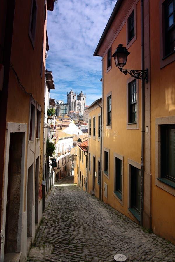 Cattedrale di Oporto Portogallo fotografia stock libera da diritti