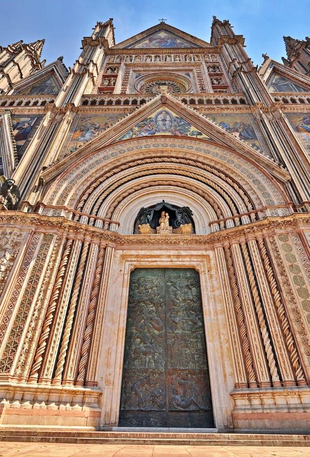 Cattedrale di Orvieto immagine stock libera da diritti