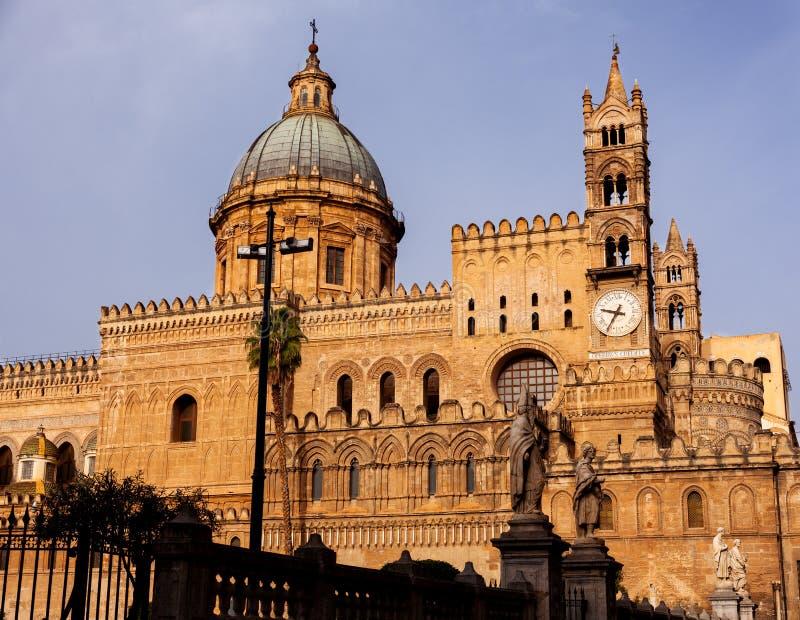 Cattedrale di Palermo dedicata all'Assunzione della Vergine Maria immagine stock libera da diritti