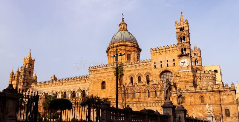 Cattedrale di Palermo dedicata all'Assunzione della Vergine Maria fotografia stock libera da diritti
