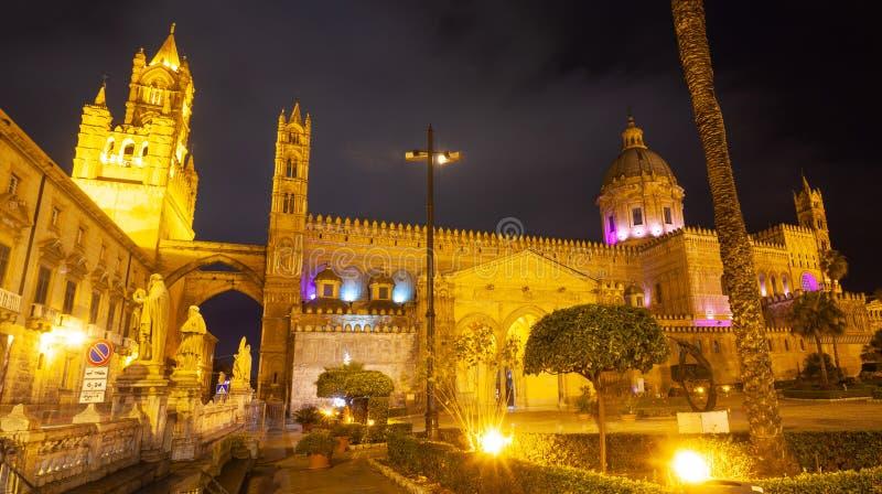 Cattedrale di Palermo dedicata all'Assunzione della Vergine Maria fotografia stock