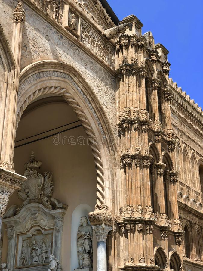 Cattedrale di Palermo obrazy royalty free