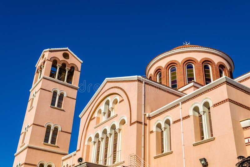 Cattedrale di Panagia Katholiki a Limassol fotografia stock