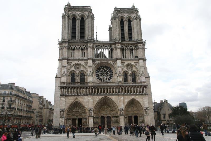 Cattedrale di Parigi immagini stock