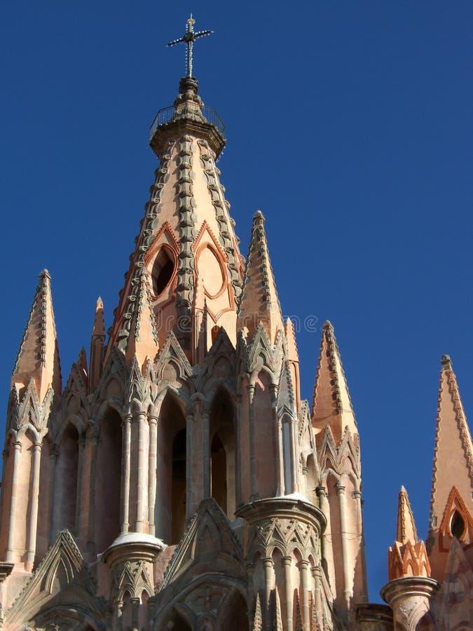Cattedrale di Parroquia fotografia stock libera da diritti